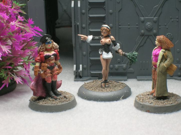 Left to Right: Pearl, Nina Luvdoll, Mrs. Chang