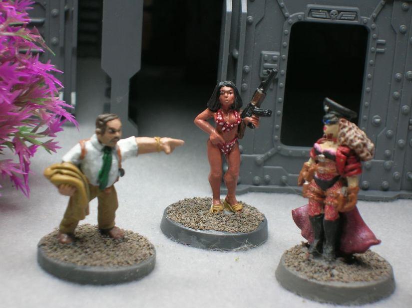 Detective Hulce, Yolanda, & Pearl