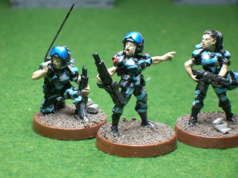 Sgt. & Comm-link Operator
