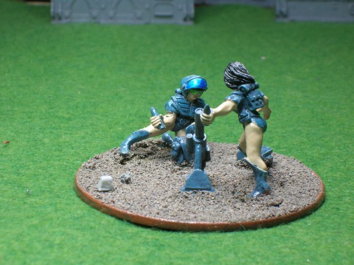 60mm Mortar Crew