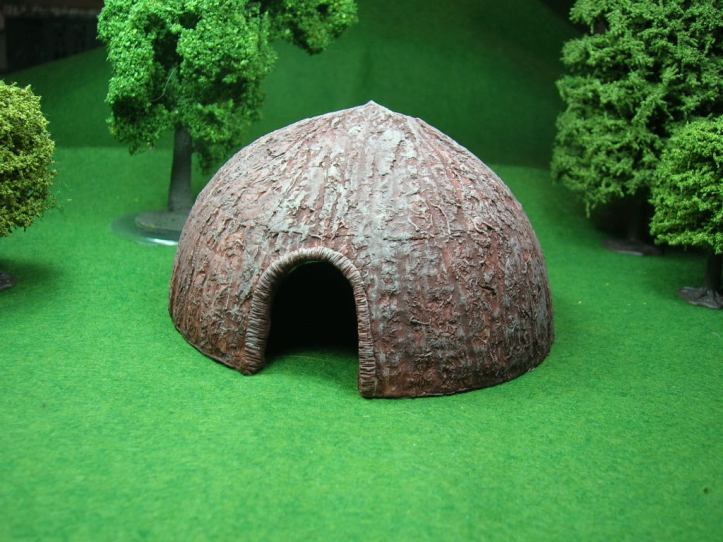 African Domed Hut by Old Glory