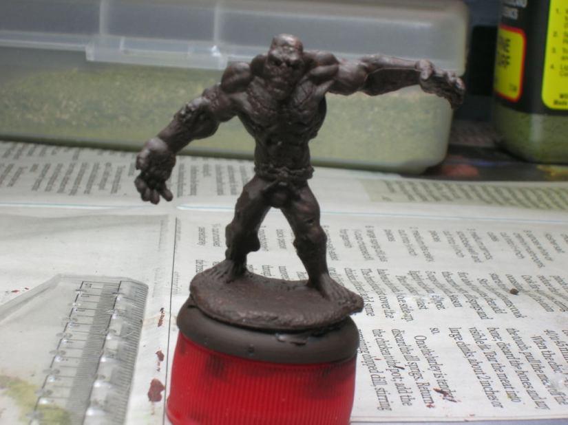 77169 Flesh Golem (which I'll paint up as a Grath)