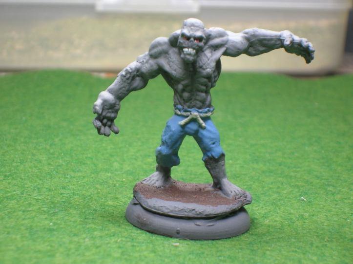 That's one big Grath - Reaper Bones Miniature