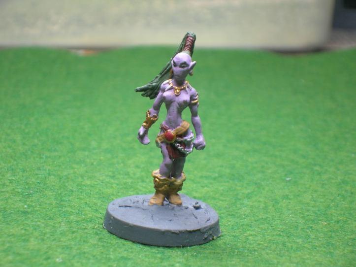 A Kabasu Rift Walker - figure by Bronze Age Miniatures