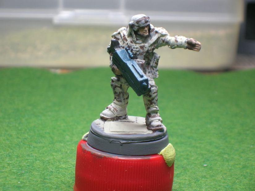 WIP - Star Army Officer - Reaper Bones