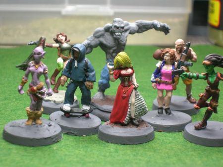 finished figures