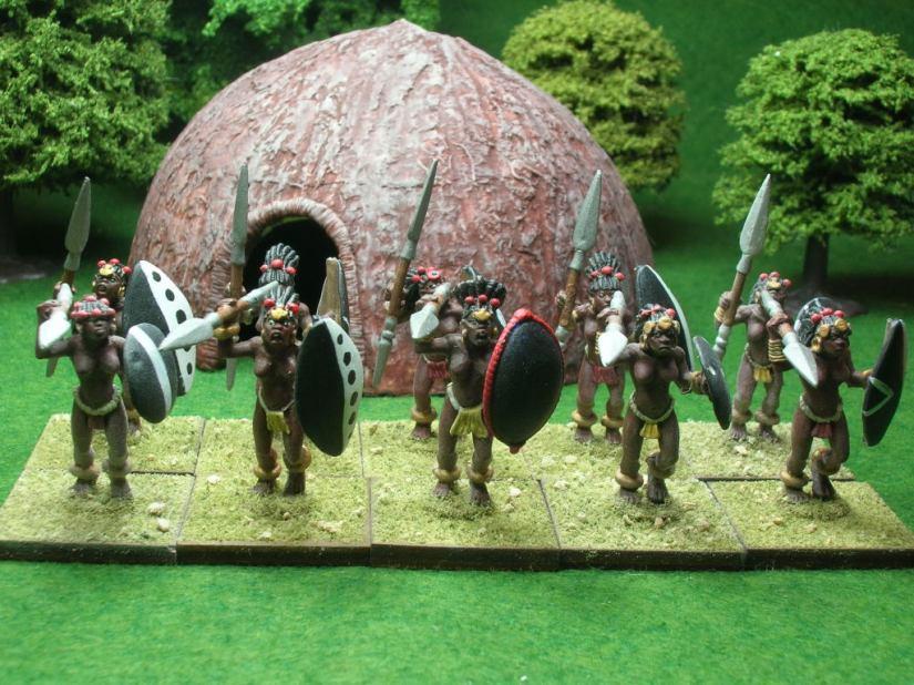 Footuck regiment of Nobe women
