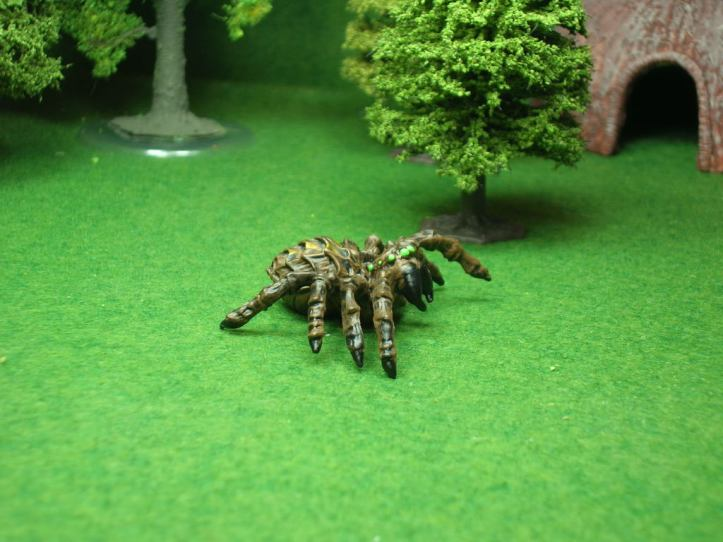 Giant Spider figure from Reaper's Legendary Encounters line