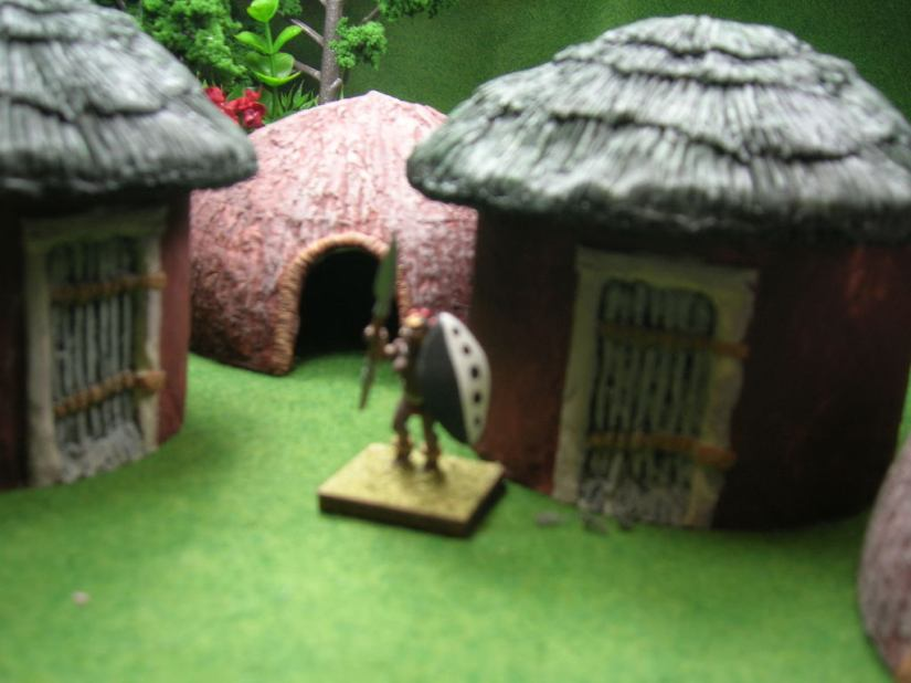Jungle Huts - from Old Glory