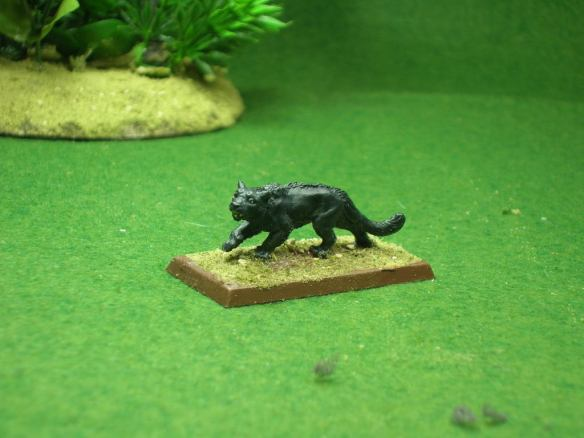 Black Leopard - figure from Reaper