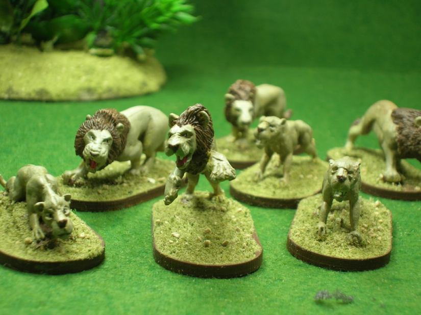 Elaine's Pride - figures by Foundry