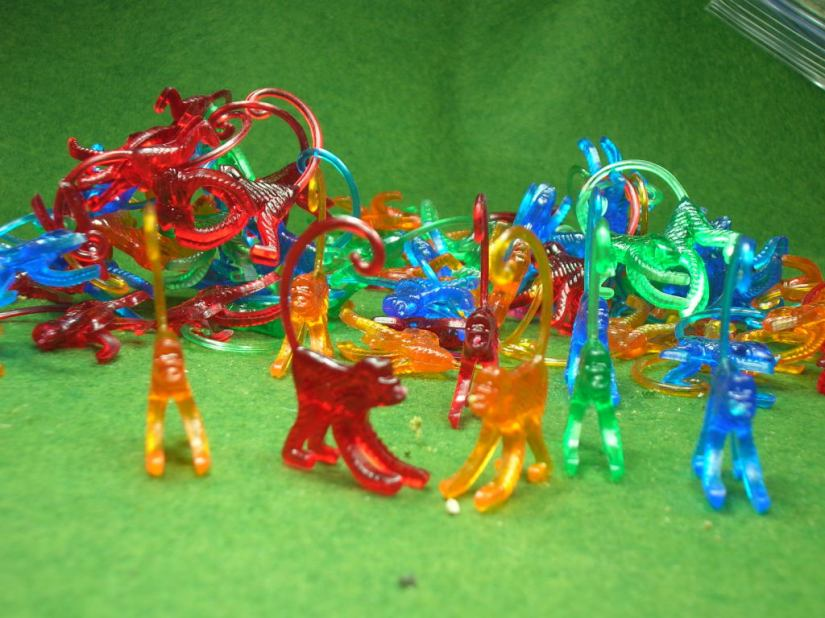 PEF Markers! - plastic cocktail monkeys from Tiki Zone