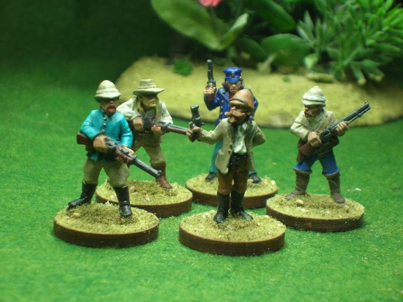 Gentlemen Explorers/Hunters.