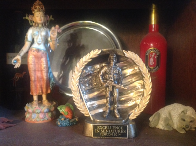 Excellence in Miniatures trophy