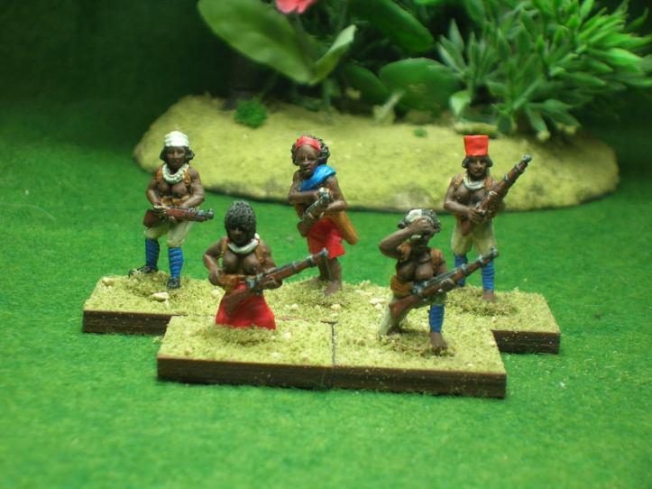 Female Askari by Hinterland Miniatures