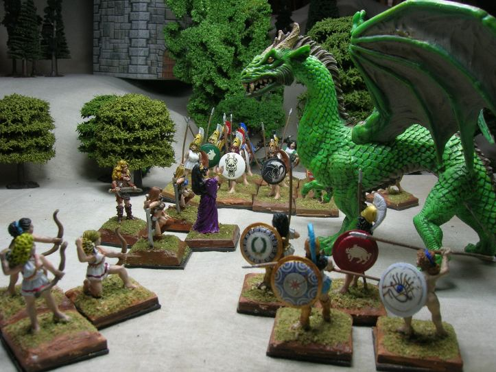 Amazons and the dragon