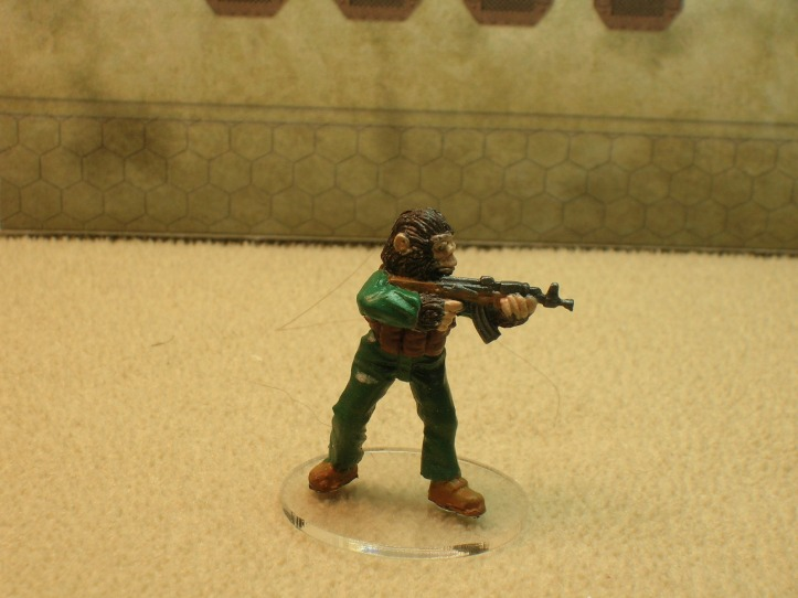 a Zhuh-Zhuh (boiler suit ape from Eureka Miniatures)