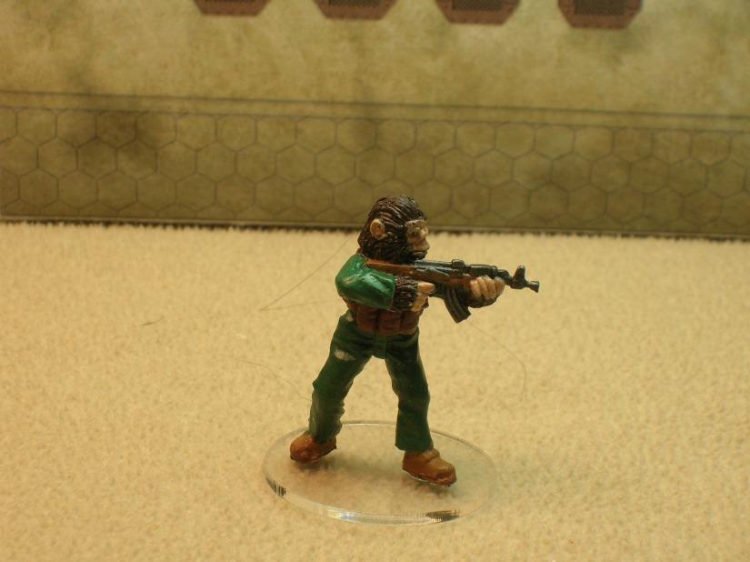 a Zhuh-Zhuh (boiler suit ape from Eureka Miniatures)