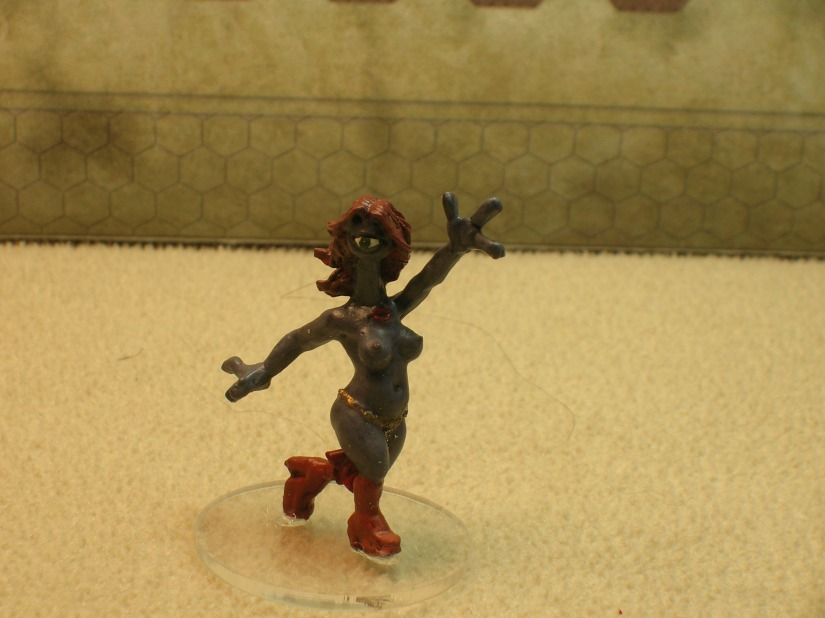 An Illyrian exotic dancer. These irresistible beauties carry an almost incurable STD (figure by Reaper)