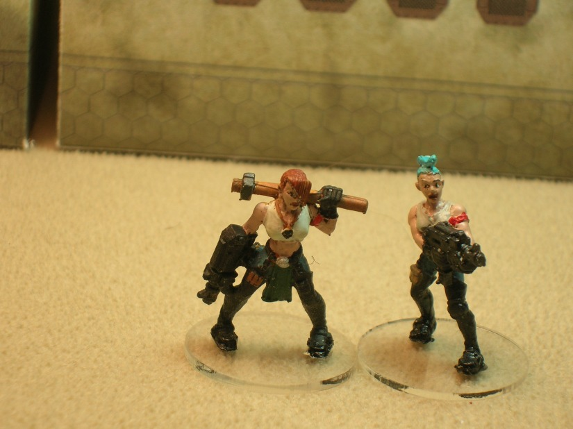 Juvenile Basics who should be in school (figures by Games Workshop)