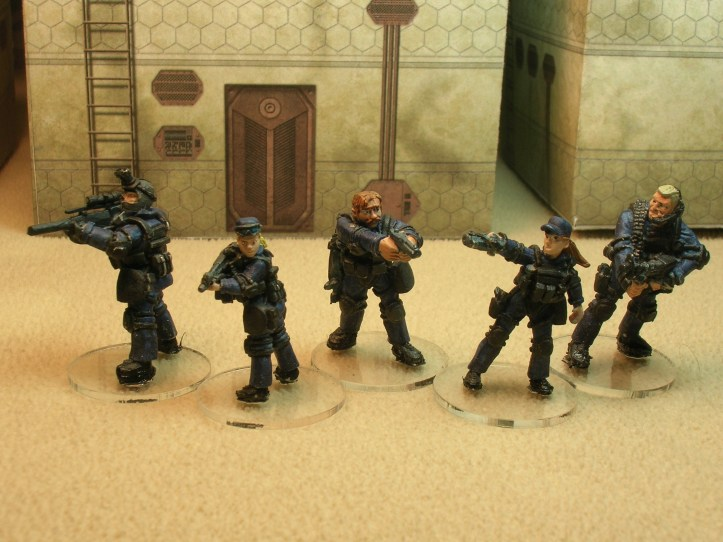 SV1/1 SWAT Team Alpha