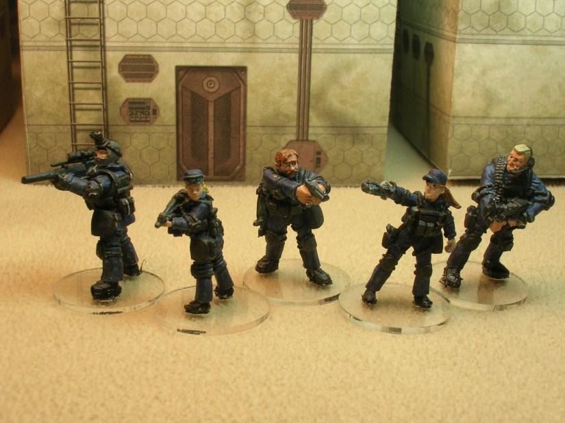 SV1/1 SWAT Team Alpha