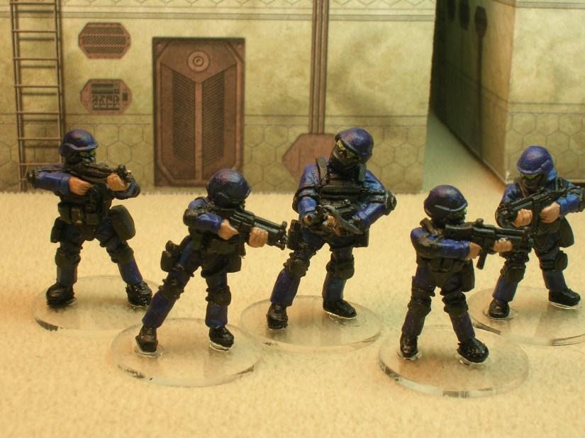 SV1/2 SWAT Team Takedown
