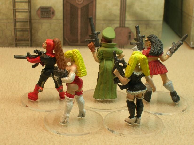 Mistress Trude's Street Girls reverse side