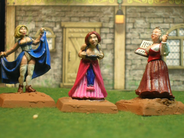 Madame & strumpets - figures by Reaper