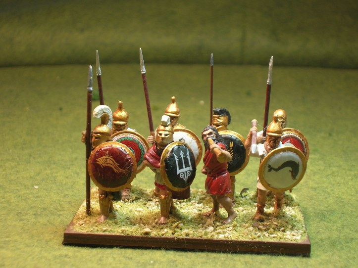 Mantinean Strategos - figures by Sgt. Major Miniatures, Black Tree Design & Victrix