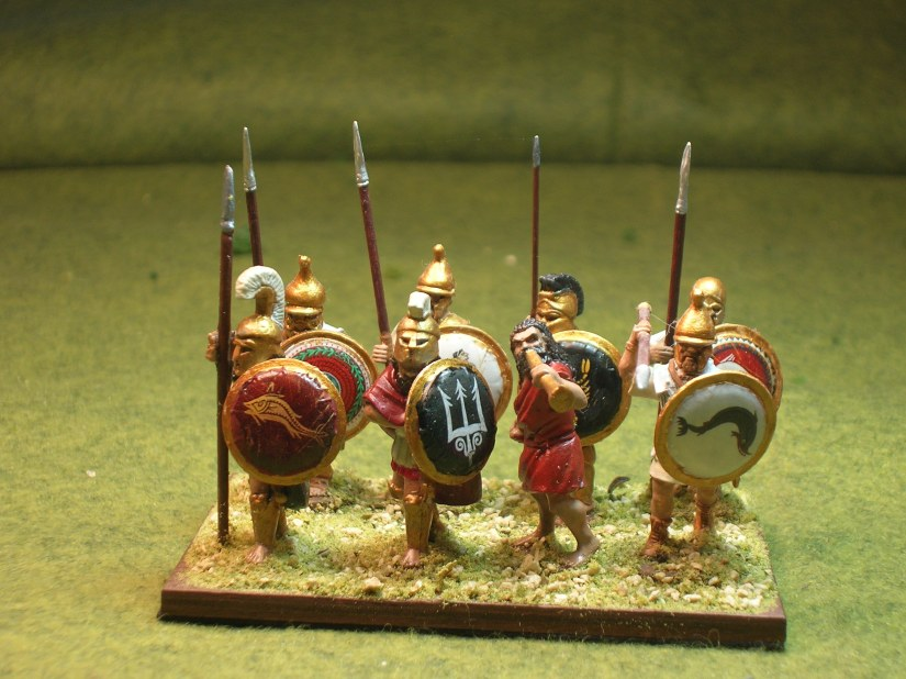 Mantinean Strategos - figures by Sgt. Major Miniatures, Black Tree Design & Victrix