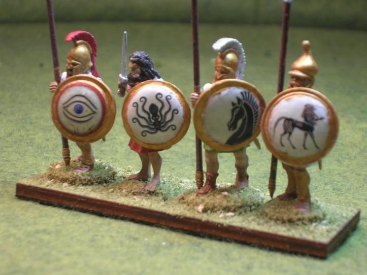 Hoplites - figures by Black Tree Design & Victrix