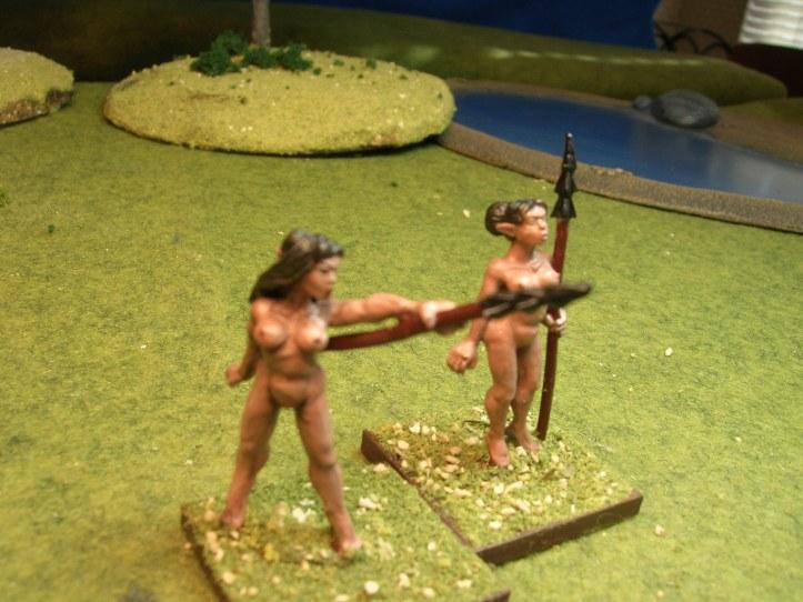 spear nymphs