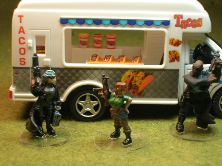 Foundry Street Violence figures & a Taco Truck!