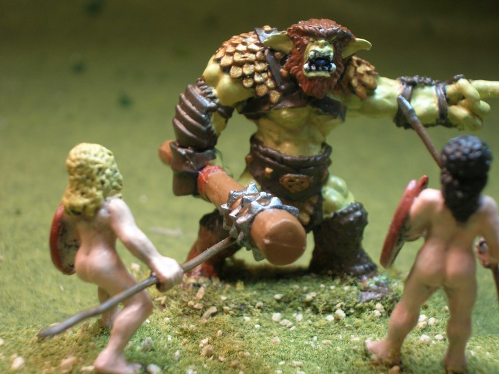Size comparison - Bugbear vs. humans