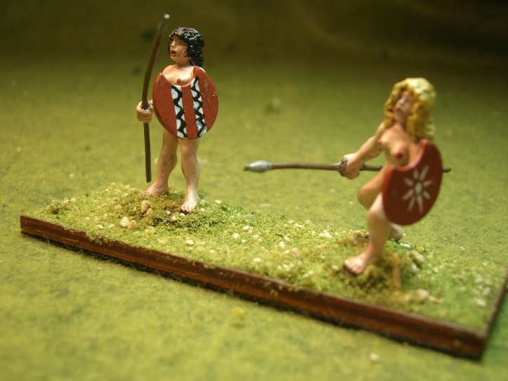 Amazons - figures by Eureka