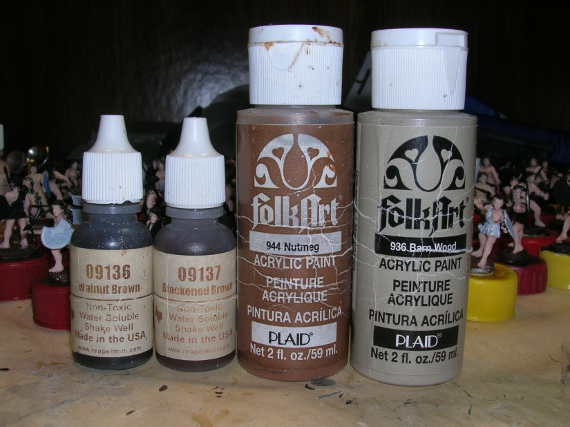 Favorite browns for hair color: Walnut Brown, Blackened Brown, & Nutmeg