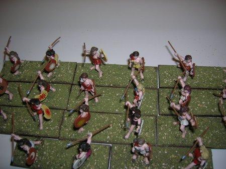 Javelineers - figures by Eureka