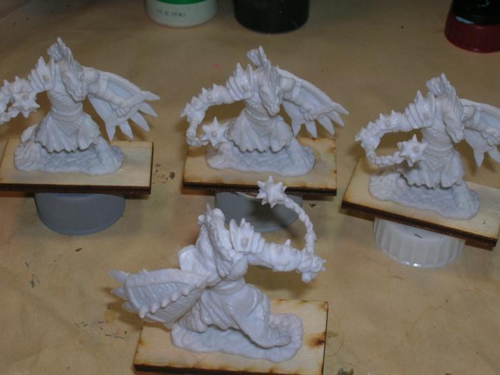 Unpainted Bones miniatures