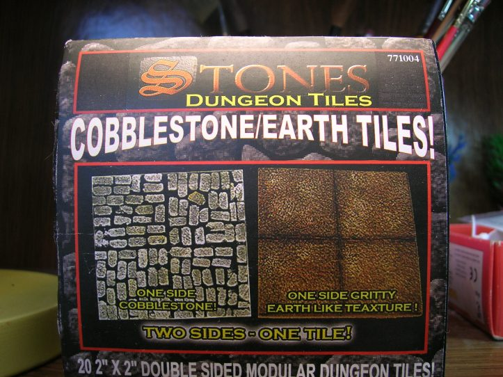 Stones Dungeon Tiles from Frontline Games