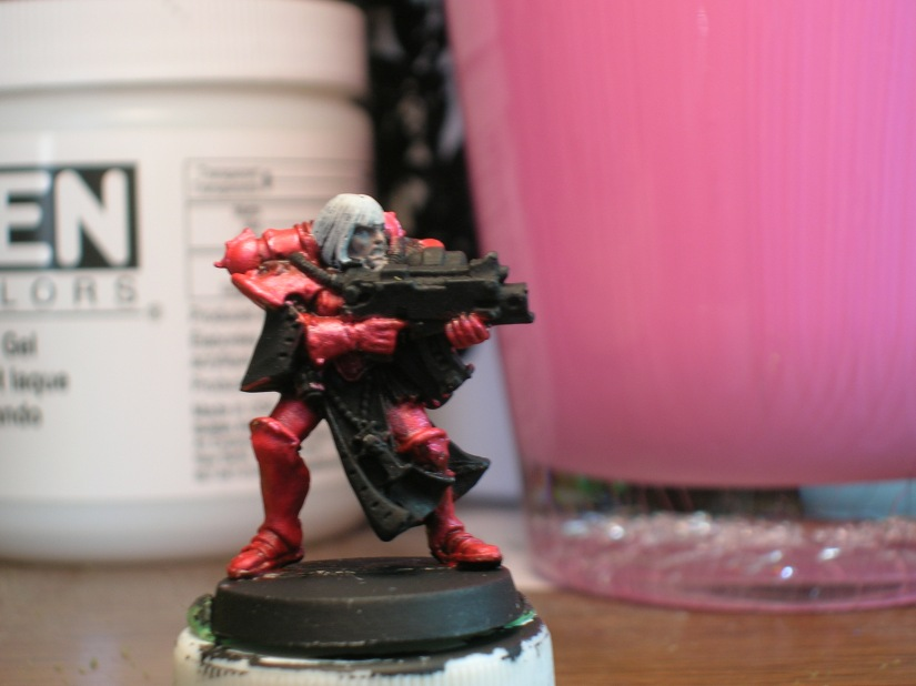 I could do more highlighting, but I'll wait until the model is nearly finished to see if it needs it